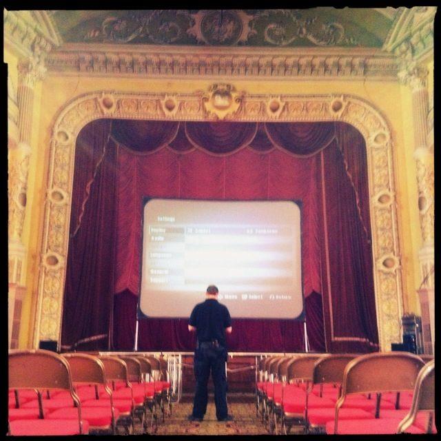 Winter Gardens Pavilion Theatre Screening
